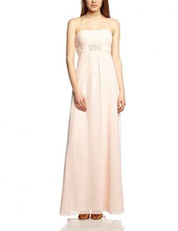 Vera Mont VM Damen Cocktail Kleid 0075/4825, Maxi, Einfarbig, Gr. 36, Rosa (Cream Tan 4220) - 1