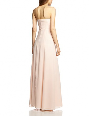 Vera Mont VM Damen Cocktail Kleid 0075/4825, Maxi, Einfarbig, Gr. 36, Rosa (Cream Tan 4220) - 2