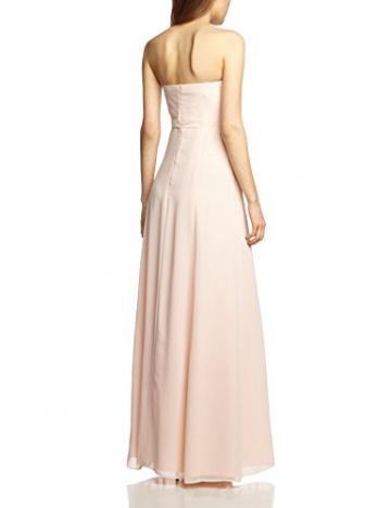 Vera Mont VM Damen Cocktail Kleid 0075/4825, Maxi, Einfarbig, Gr. 36, Rosa (Cream Tan 4220) - 2
