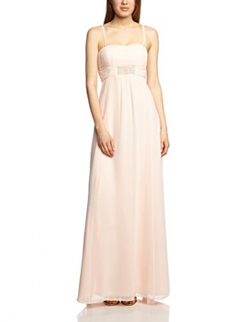 Vera Mont VM Damen Cocktail Kleid 0075/4825, Maxi, Einfarbig, Gr. 36, Rosa (Cream Tan 4220) - 3