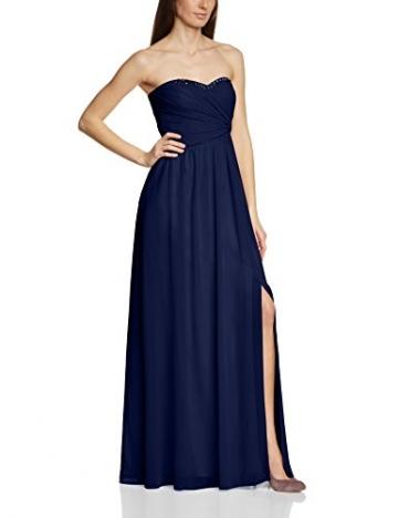 Vera Mont VM Damen Cocktail Kleid 2013/3975, Maxi, Einfarbig, Gr. 36, Blau (Evening Blue 8339) - 1