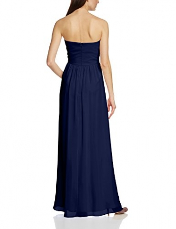 Vera Mont VM Damen Cocktail Kleid 2013/3975, Maxi, Einfarbig, Gr. 36, Blau (Evening Blue 8339) - 2