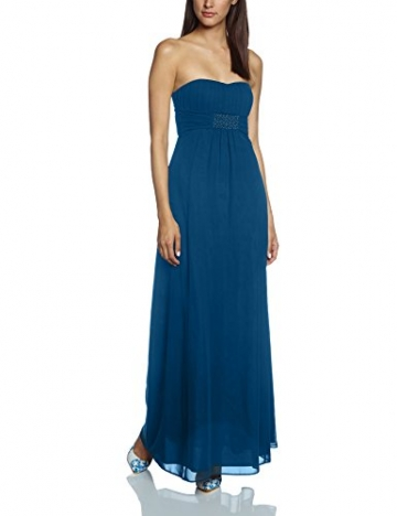 Vera Mont VM Damen Kleid 0075/4825, Maxi, Gr. 34, Blau (Shadow Blue 8057) - 1