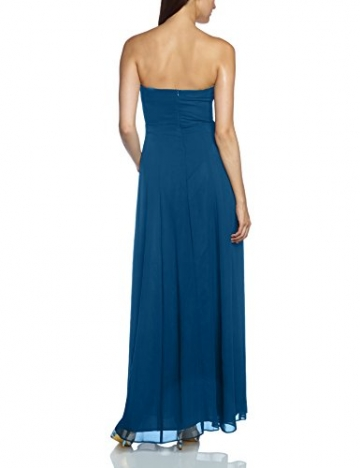 Vera Mont VM Damen Kleid 0075/4825, Maxi, Gr. 34, Blau (Shadow Blue 8057) - 2