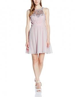 Vera Mont VM Damen Kleid 2501/4975, Knielang, Gr. 32, Rosa (Crystal Pink 4084) - 1