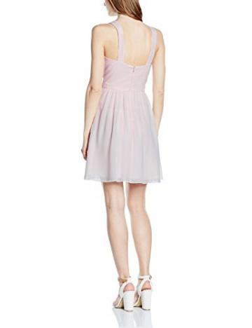 Vera Mont VM Damen Kleid 2501/4975, Knielang, Gr. 32, Rosa (Crystal Pink 4084) - 2