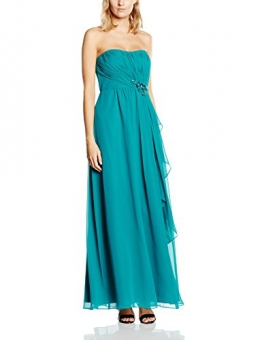 Vera Mont VM Damen Kleid 2544/4591, Gr. 36, Grün (Shiny Turquoise 5796) - 1
