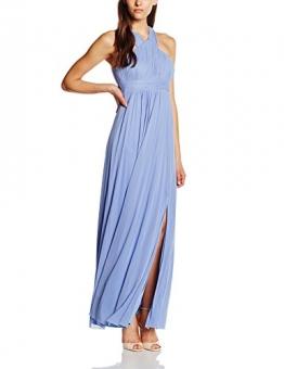 Vera Mont VM Damen Kleid 2548/4561, Maxi, Gr. 38, Blau (Light Royal Blue 8415) -