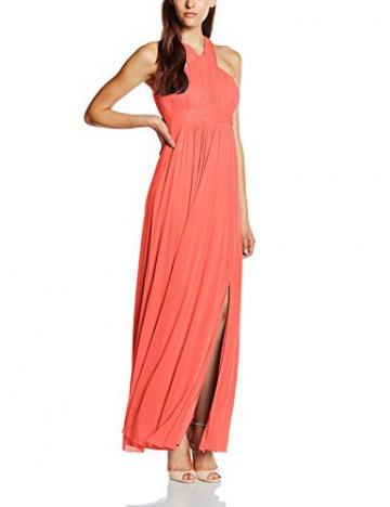Vera Mont VM Damen Kleid 2548/4561, Maxi, Gr. 38, Rosa (Georgia Peach 4044) - 1