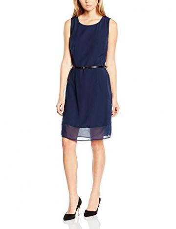 Vero Moda Damen ShortKleid, Blau - Blau (Black Iris),Gr.32 (Herstellergröße:XS) - 1