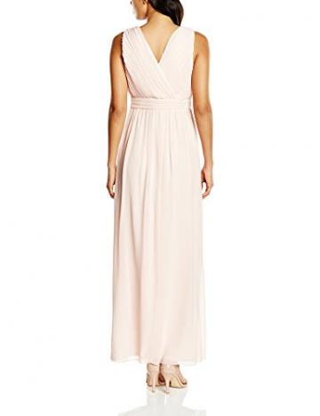 VILA CLOTHES Damen Dekolletiertes Kleid Vihitti Dress, Maxi, Einfarbig, Gr. 36 (Herstellergröße: S), Rosa (Rose Smoke) - 2