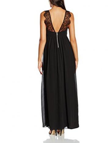 VILA CLOTHES Damen Empire Kleid Viorigin Dress, Maxi, Gr. 36 (Herstellergröße: S), Schwarz - 2