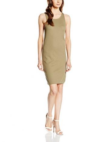 VILA CLOTHES Damen Kleid Vifalls Dress, Grün (Mermaid), 38 (Herstellergröße: M) -
