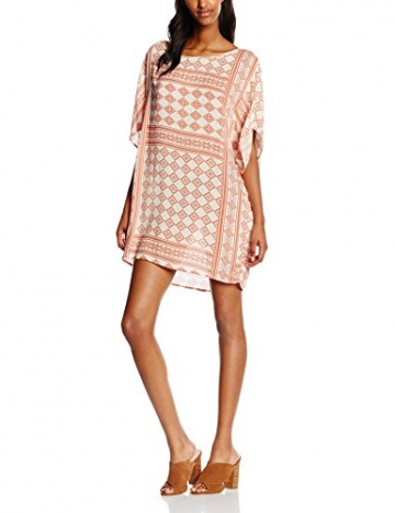 VILA CLOTHES Damen Kleid Vitikas Dress, Mehrfarbig (Aragon), 38 (Herstellergröße: M) -