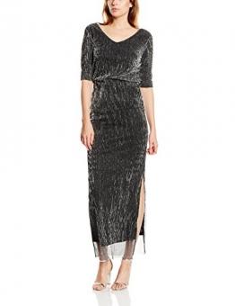 Vila Damen Kleid Gr. 36 EU (Herstellergröße: S), Silber (Silver) - 1