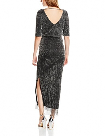 Vila Damen Kleid Gr. 36 EU (Herstellergröße: S), Silber (Silver) - 2