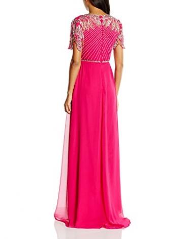 Virgos Lounge Damen Kleid ursula, Maxi, Gr. 36 (Herstellergröße: Size 10), Rosa (Fuschia) - 2