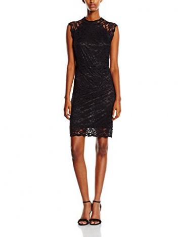 Y.A.S Damen Kleid Gr. 40 (Herstellergröße: 42), Schwarz - Schwarz - 1