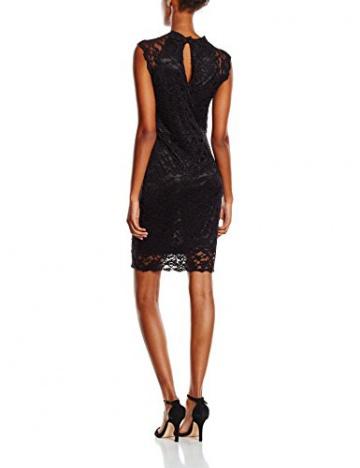 Y.A.S Damen Kleid Gr. 40 (Herstellergröße: 42), Schwarz - Schwarz - 2