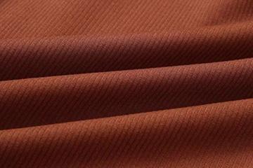 Yidarton Pullover Damen Strickkleid PulloverKleid Sexy Elegant Rückenfrei V-Ausschnitt Langarm Pullover Kleid Minikleid mit GüRtel (Braun, S) - 4
