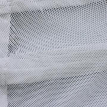 YiZYiF Sexy Durchsichtig Minikleid Babydoll Dessous Set Damen Kleid Reizvolle Wäsche + G-string Weiß Einheitsgröße (Brust 78-120cm) - 6