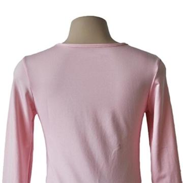 Yogogo Womens Bodycon Langarm-Kleid-Dame-Partei-Abend-Minikleid (S, Rosa) - 4