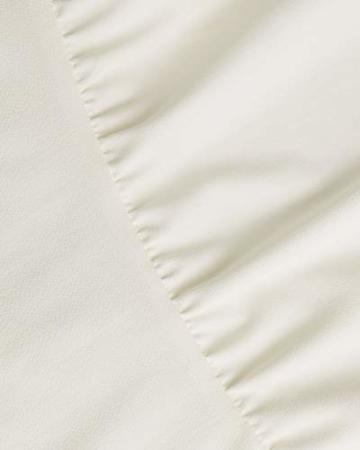 YOINS Sommerkleid Damen Kurz Schulterfrei Kleid Elegante Kleider für Damen Strandmode Langarm Neckholder A Linie Weiß-1 EU44(Kleiner als Reguläre Größe) - 5