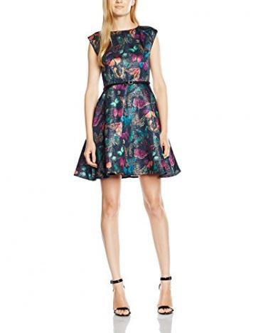 Yumi Damen SkaterKleid Gr. 36, Mehrfarbig - Mehrfarbig - 1