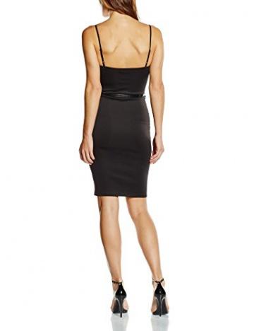 Zabaione Damen Kleid Trägerkleid, Knielang, Gr. 36 (Herstellergröße: S), Schwarz (black 90001) - 2