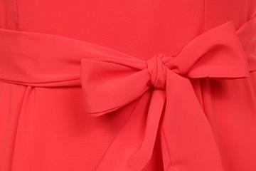 Zeagoo Damen Chiffonkleid Pleated Kleid Partykleid A-Linie Prinzessin Ärmellos ... - 5