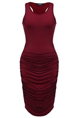 Zeagoo Damen Sexy Bodycon Kleid Tank Kleider Midikleid -