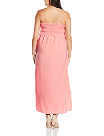 Zizzi Damen Kleid X92145B, Maxi, Gr. 42 (Herstellergröße: S), Rosa (Desert Flower 9993) - 2